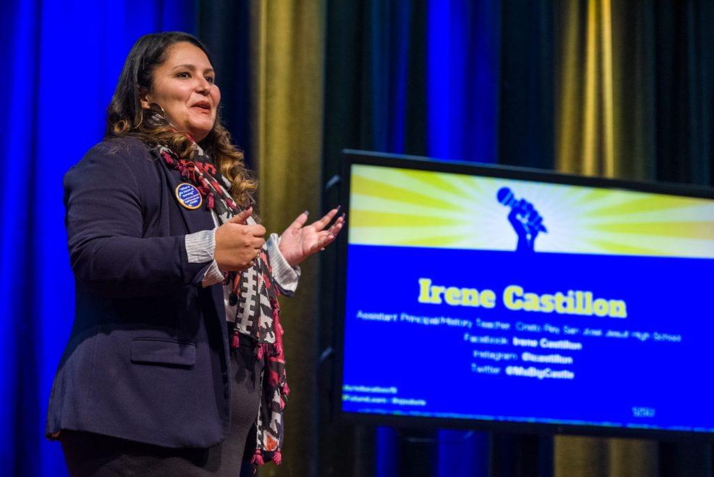 SJSU Lurie College of Education Future of Learning Summit Irene Castillon