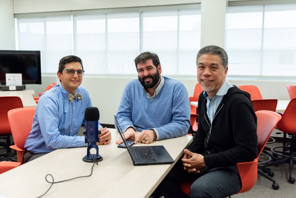 SJSU Lurie College of Education Innovations Podcast Luis Poza Eduardo Munoz-Munoz Mark Felton