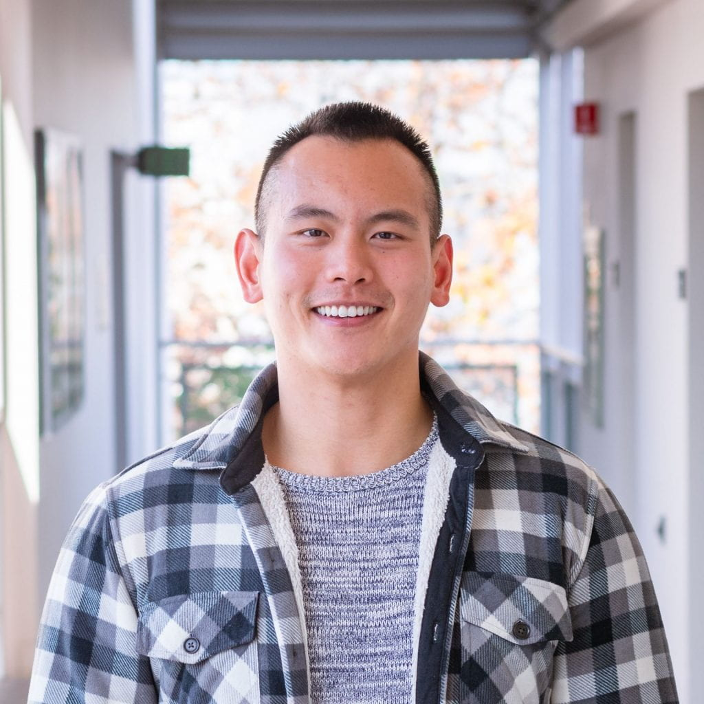 SJSU Student and Future Educator Henry Fan