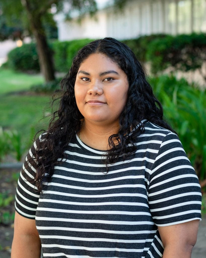 SJSU Lurie College of Education Child and Adolescent Development Student Luz Nicacio