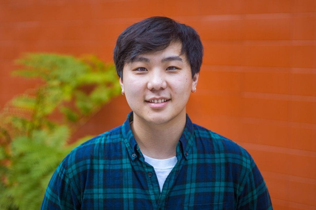 SJSU Lurie College of Education Communicative Disorders and Sciences Student James Chow