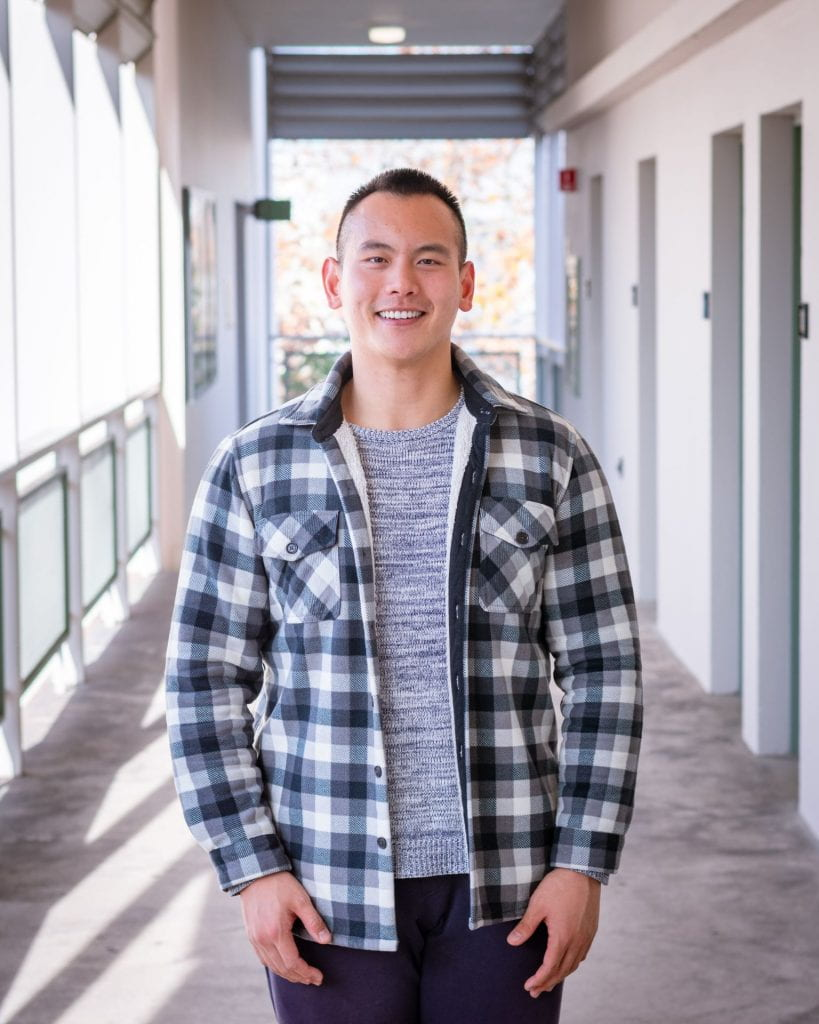 SJSU Student and Lurie College of Education Ambassador Henry Fan