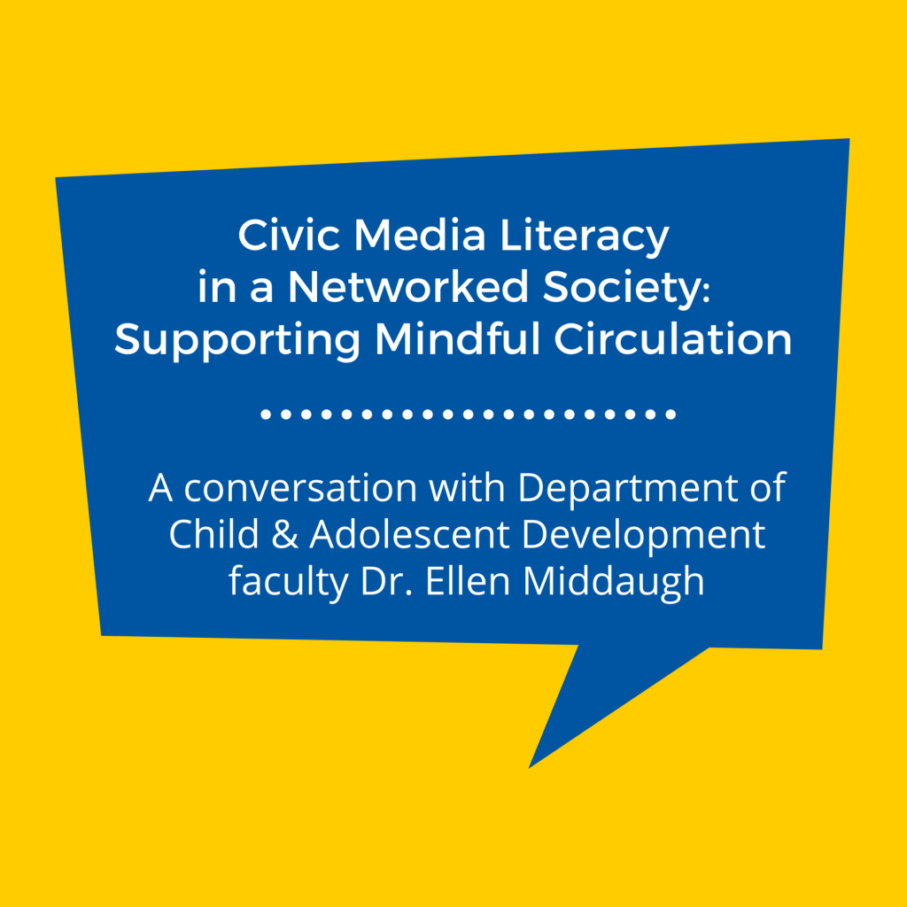 SJSU Lurie College of Education Child and Adolescent Development Faculty Ellen Middaugh Spencer Foundation