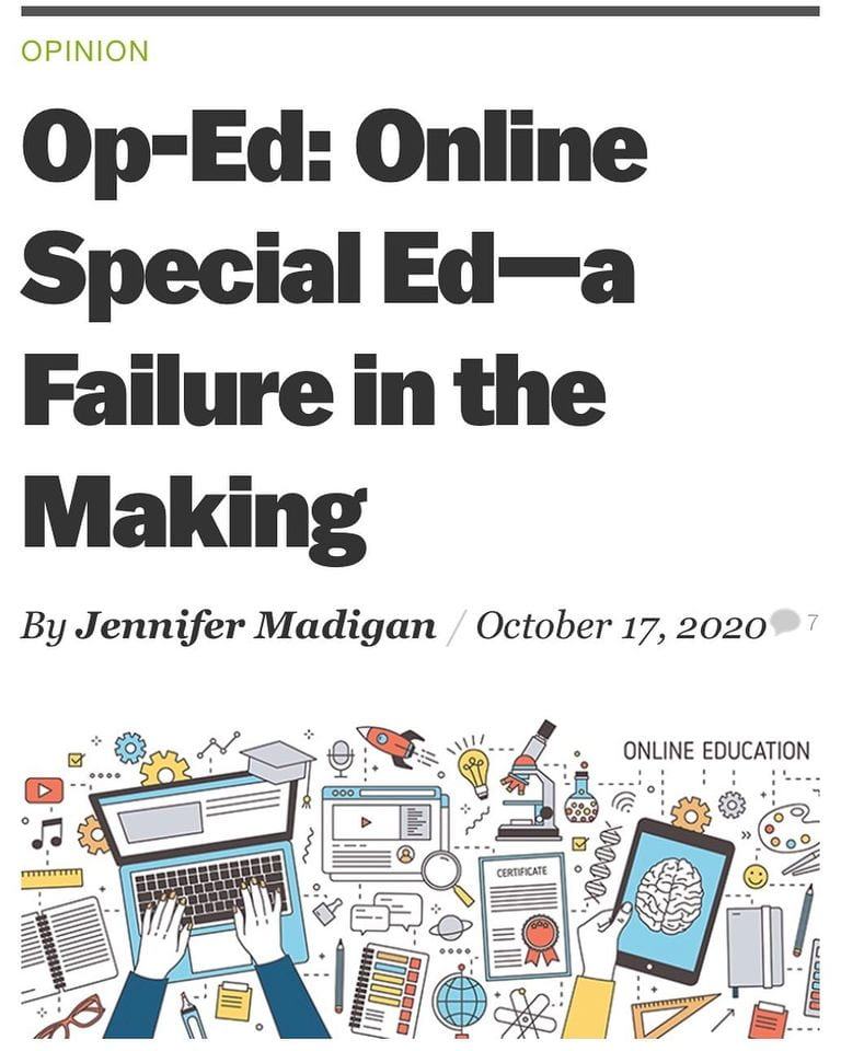 SJSU Lurie College of Education Special Education Department Faculty Jennifer Madigan Opinion