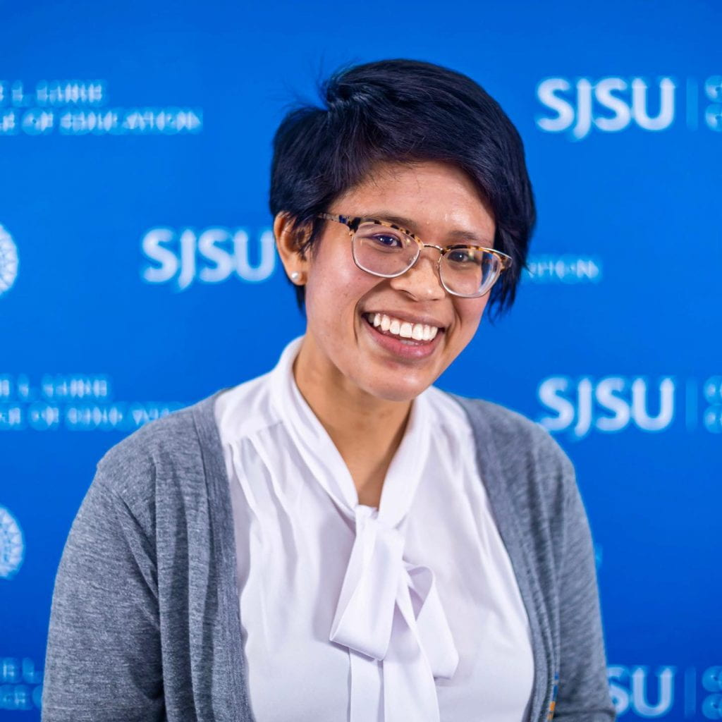 SJSU Lurie College of Education Teacher Education Department Student Erin Enguero