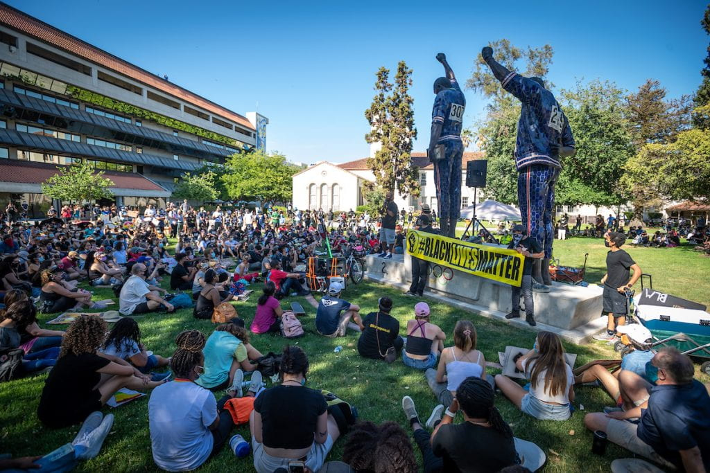 Juneteenth March and Rally at SJSU