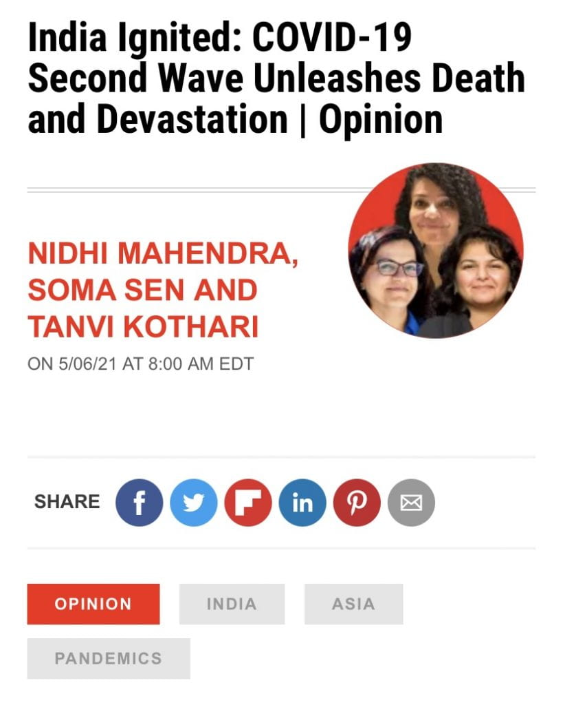 SJSU Lurie College of Education Communicative Disorders and Sciences Faculty Nidhi Mahendra Newsweek OpEd