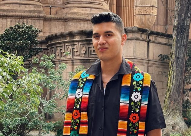 SJSU Lurie College of Education Communicative Disorders and Sciences Student Robby Abarca