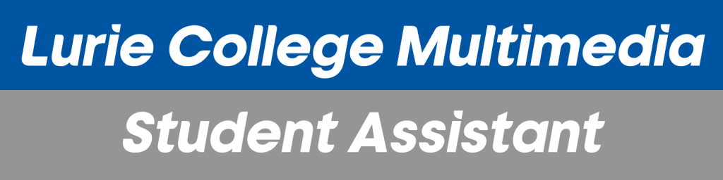 SJSU Lurie College of Education Multimedia Student Assistant