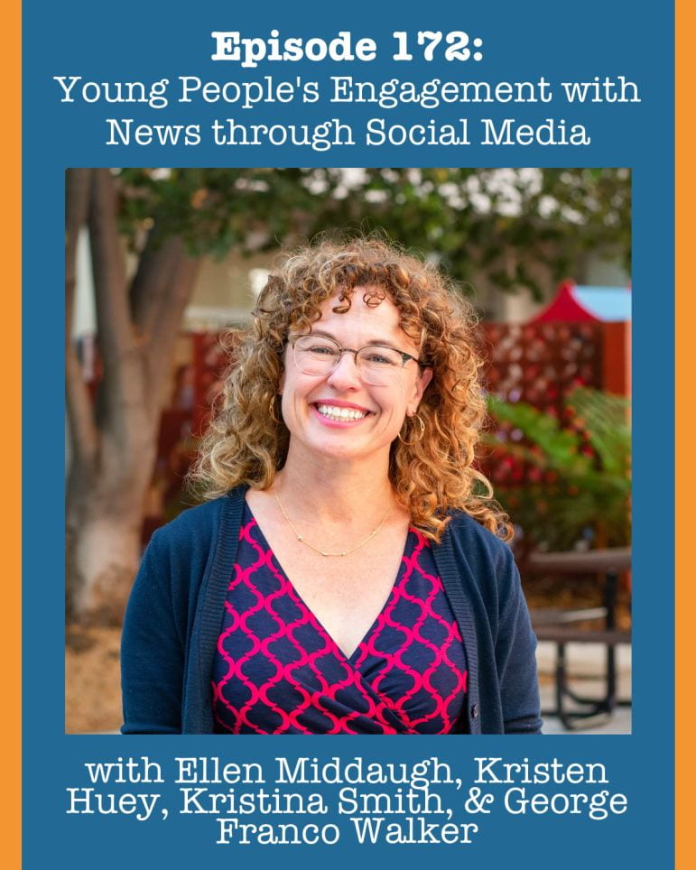 SJSU Lurie College of Education Child and Adolescent Development Faculty Ellen Middaugh Visions of Education Podcast