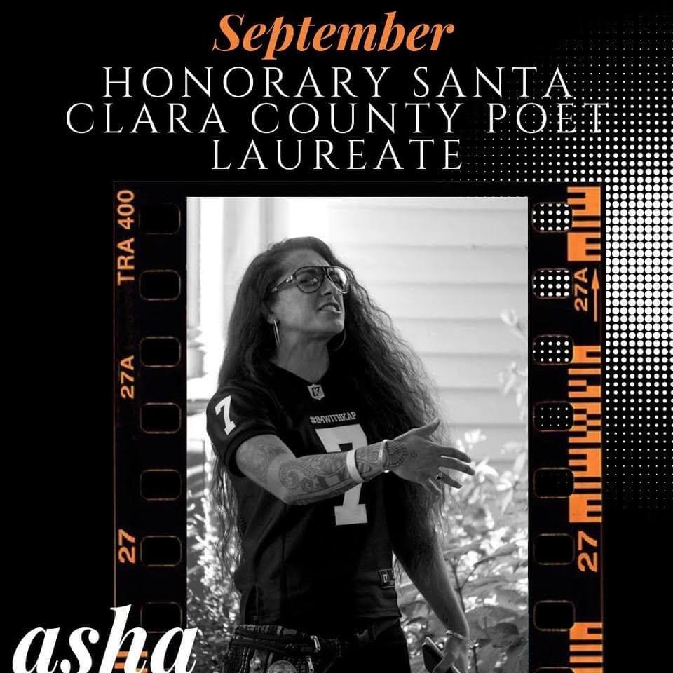 Santa Clara County Poet Laureate SJSU Teacher Education Faculty Asha Sudra