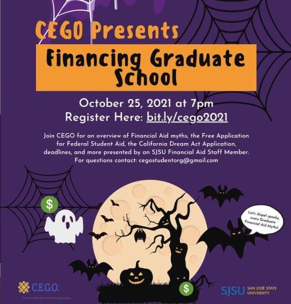 SJSU Lurie College of Education Counselor Education Graduate Organization Financing Graduate School Workshop