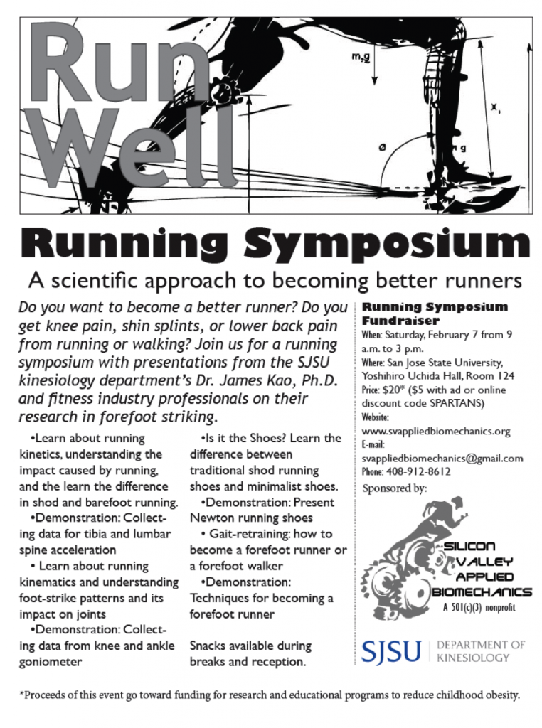 Running Symposium Flyer
