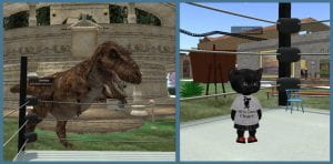 "Bethany's Avatars: T-Rex & ""Tiny"""
