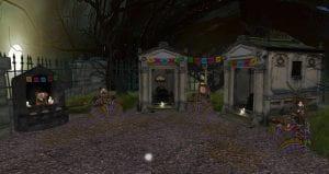 Día De Los Muertos exhibit in Second Life