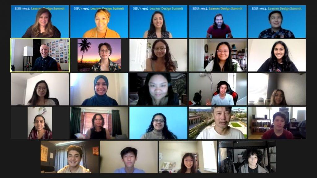 Learner Design summit group shot