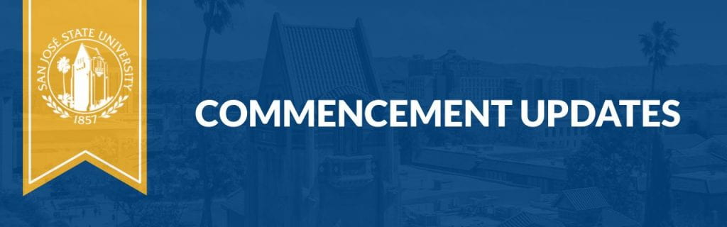 Commencement Updates banner