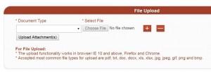 FTS Upload File
