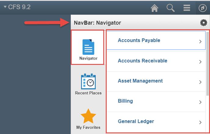 NavBar: Navigator