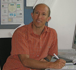 Associate Professor of Meteorology and Climate Science Eugene Cordero