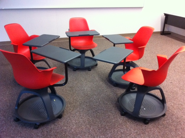 New Chairs Support Diverse Learning and Teaching Styles | SJSU News