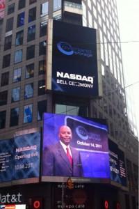 Alumnus Rings NASDAQ Opening Bell