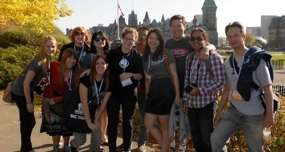 SJSU Students Attend the Ottawa International Animation Festival