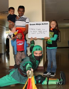 Bay Area Science Festival Features Green Ninja
