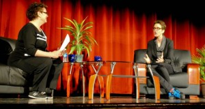 Rachel Maddow Accepts Steinbeck Award