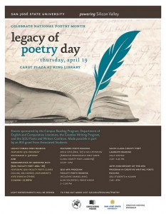 Legacy of Poetry Day poster