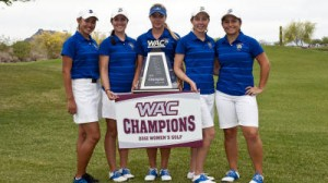 Women's Golf Win's Fourth Consecutive WAC Title