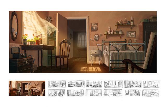 Animation Illustration Students Mentor High School Magnet Program