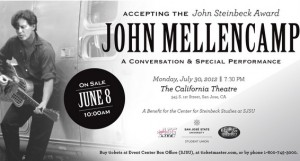 John Mellencamp to Receive Steinbeck Award