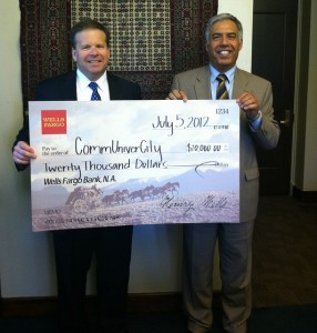CommUniverCity San Jose Receives $20,000 Gift from Wells Fargo