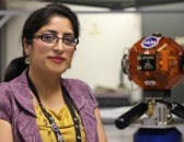 Ali luna working at Nasa ames