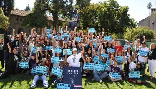 SJSU's Impact on the 2012 Elections