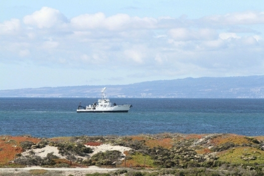 Research Vessel Departs for Antarctica