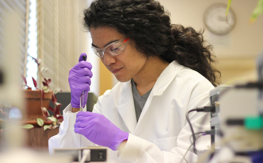 Chemistry Major Receives Gilliam Fellowship