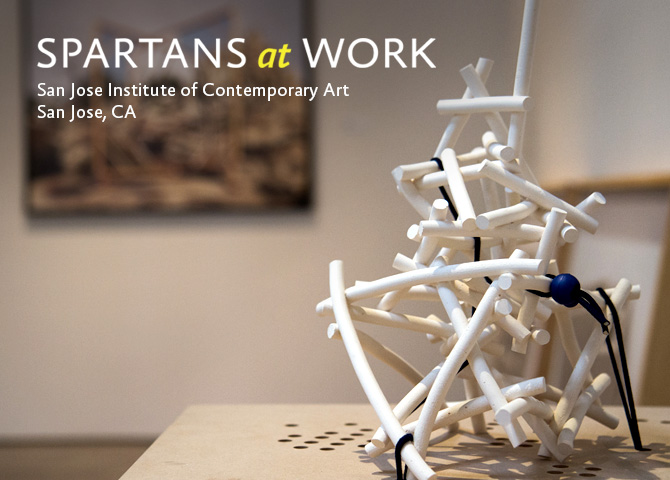 Spartans at Work: San Jose Institute of Contemporary Art
