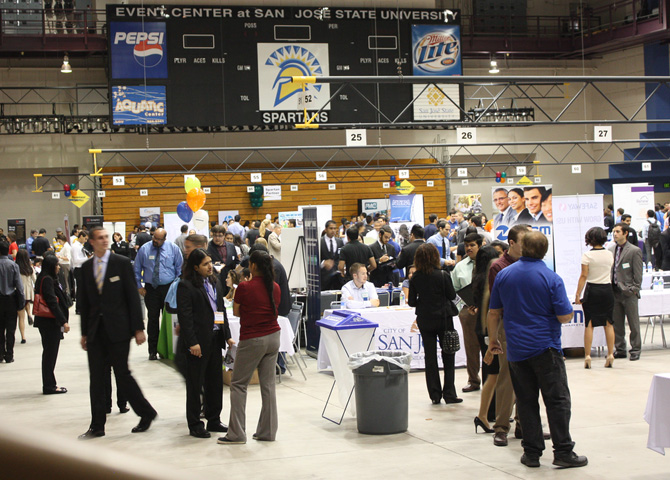SJSU Fall 2013 Job Fair