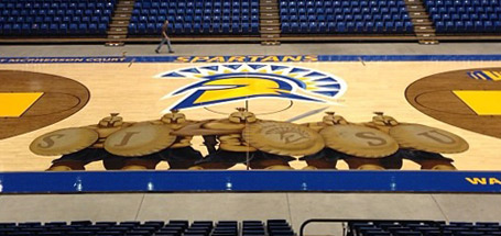 SJSU Basketball Court