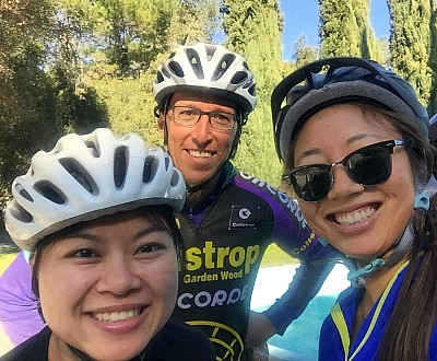 Climate Ride team