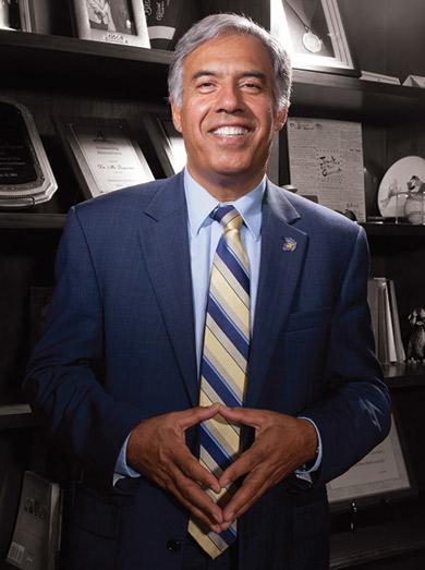 President Qayoumi Power Portrait