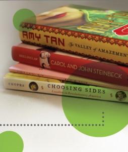 Editor's Bookshelf Book Pile Image