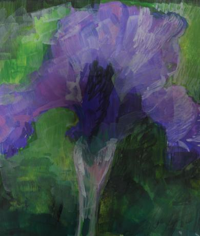 In Memoriam Floral Image