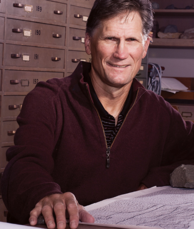 Geology Professor Donald L. Reed Image
