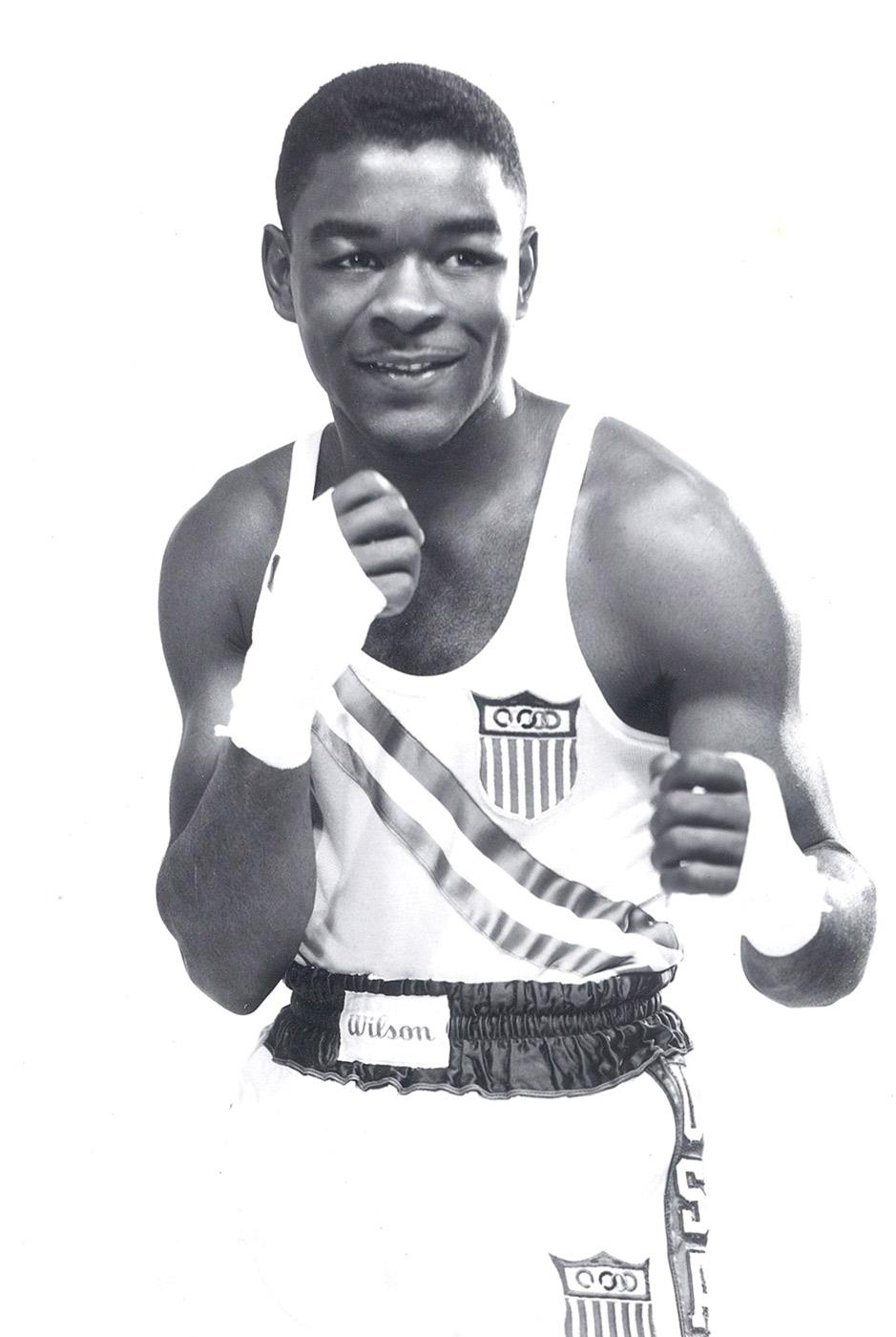 Chuck Adkins, Boxing, 1952 Olympics