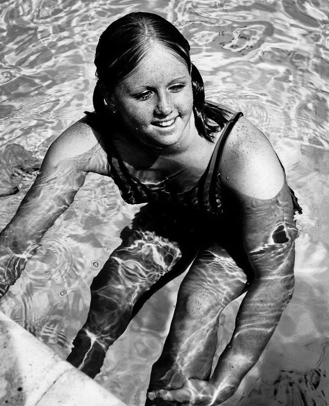 Lynn Vidali, Swimming, 1972 Olympics