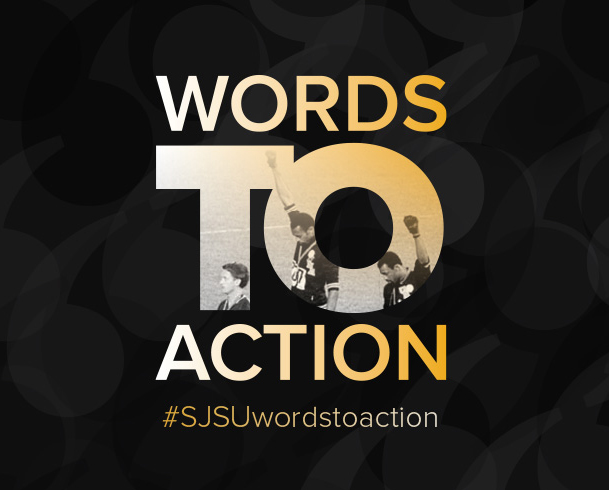 #SJSUWordstoAction