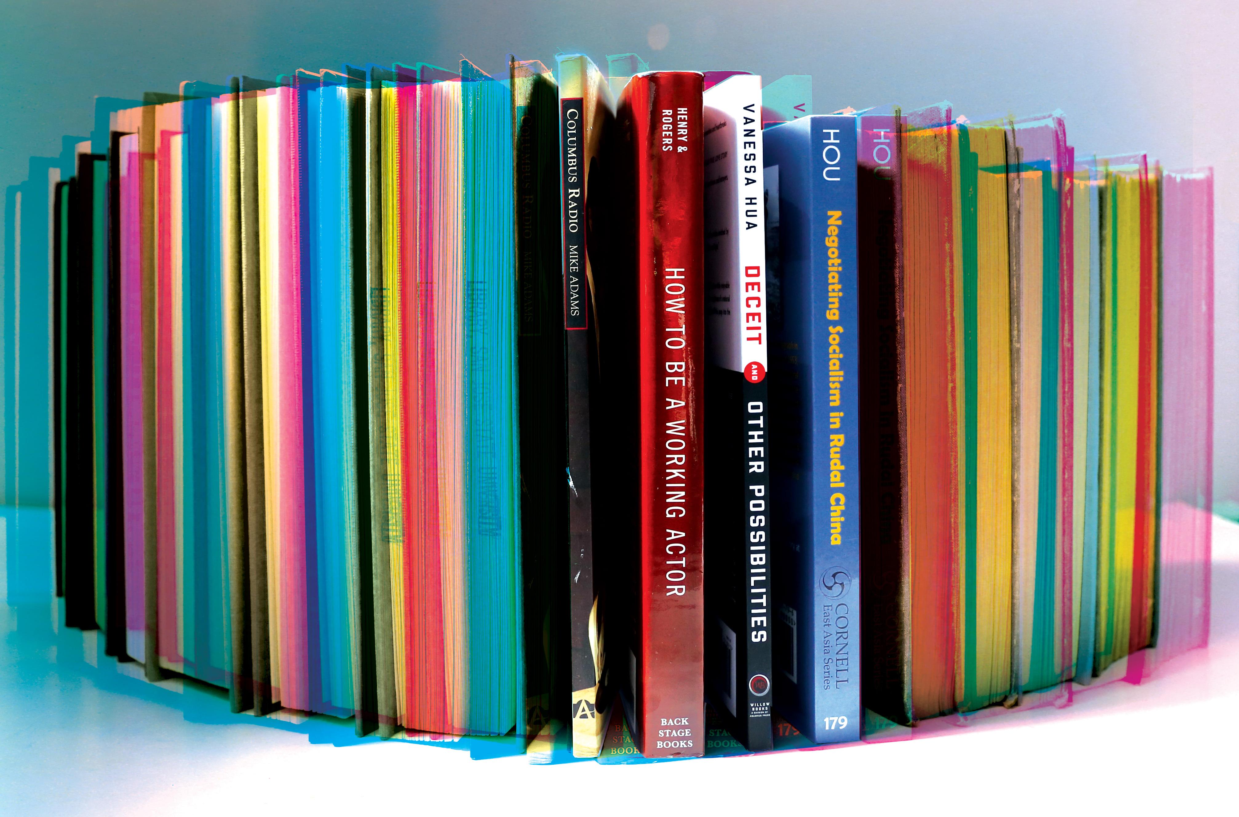 CMYK Bookshelf